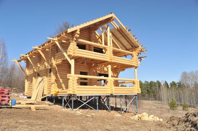 Свайный фундамент - особенности и преимущества постройки