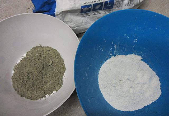 Белый цемент – уникальный материал для отделки