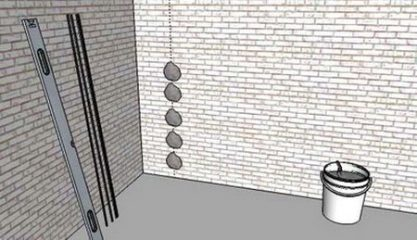 Оштукатуривание стен по маякам: подробная инструкция