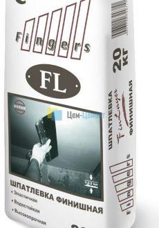 Цементная шпаклевка фасадная финишная белая «FinLayer»(FL)