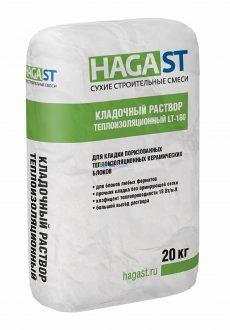 Кладочный раствор теплоизоляционный HAGAST LT-180
