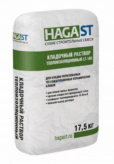 Кладочный раствор теплоизоляционный HAGAS LT-160