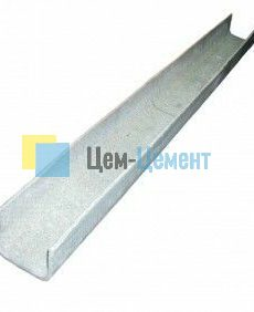 Лотки электротехнические огнедугозащитные марки ЛЭОД (тип 2) 1200x68x84