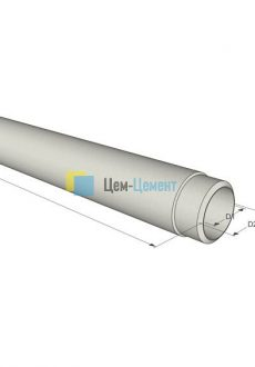Напорные Асбестоцементные  трубы (ВТ-6) 400 (L-5,00)
