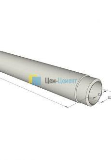 Напорные Асбестоцементные  трубы (ВТ-12) 150 (L-3,95)
