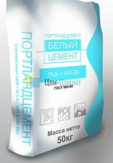 Белый Цемент ПЦБ 1-500 Д0 Holcim (Щурово)