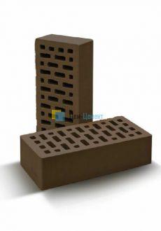 Кирпич М-150-200 полуторный лицевой (шоколад)