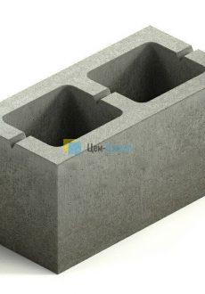 Пескоцементный блок (2х щелевой)