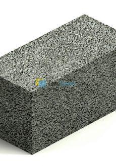 Керамзитобетонный блок (полнотелый)