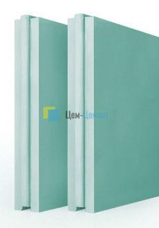 Плита пазогребневая Русеан полнотелая влагостойкая ПГПВ 667х500х80 мм