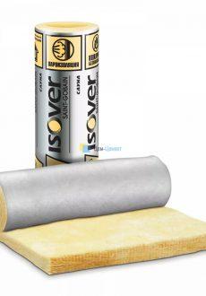 Теплоизоляция Isover Сауна алюминиевое покрытие 12500х1200х50 мм 1 шт (15 м2)