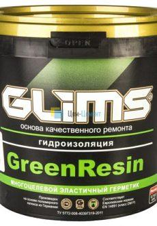 Многоцелевой эластичный герметик Glims GreenRezin