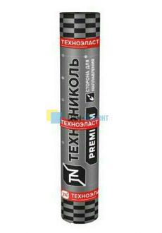 Рулонная кровля Технониколь Техноэласт ЭКП сланец серый 1х10 м (10 м2)