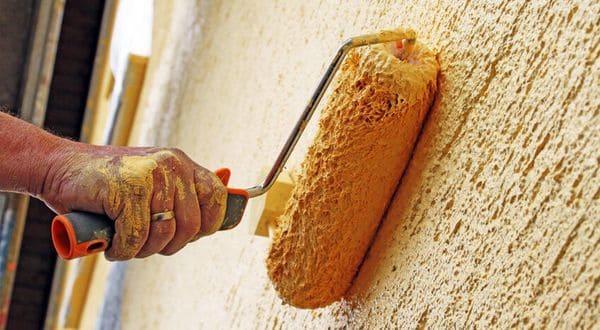 Грутновка для обработки стен